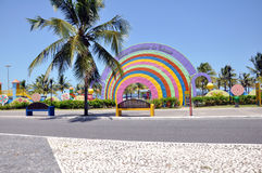 Aracaju scherzt allgemeinen Park Lizenzfreie Stockbilder