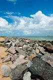 Aracaju - Sergipe. Brazil, view from the Atalaia Nova Beach Royalty Free Stock Images