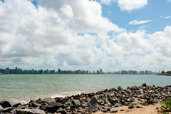Aracaju - Sergipe. Brazil, view from the Atalaia Nova Beach Stock Photography