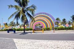 aracajuen lurar den offentliga parken Royaltyfria Bilder