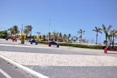 aracajuen lurar den offentliga parken arkivbilder