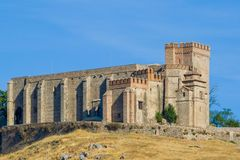 aracena φρούριο κάστρων Στοκ Φωτογραφίες