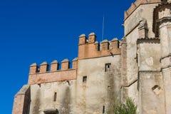 aracena φρούριο κάστρων Στοκ εικόνα με δικαίωμα ελεύθερης χρήσης