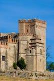aracena slottfästning Arkivbilder