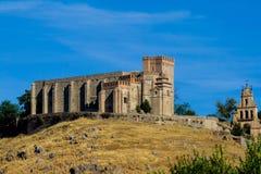 aracena slottfästning Arkivfoto