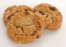 arachide de biscuits de chocolat de puce de beurre Photographie stock libre de droits