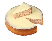 Arachide de citron et dessert d'amande Image stock
