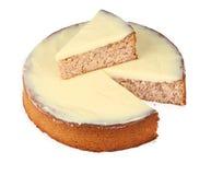Arachide del limone e dessert della mandorla Immagine Stock