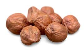 Arachide, noix de cajou, noix de pécan, amande d'isolement dessus photographie stock