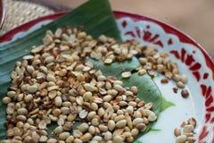 Arachide pour la salade de thais Photographie stock libre de droits