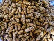 Arachide in una struttura delle coperture fondo dell'alimento delle arachidi Fotografia Stock Libera da Diritti