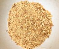 Arachides écrasées Image stock