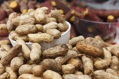 Arachides bouillies Image stock