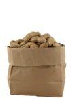 Arachides dans un sac Image stock