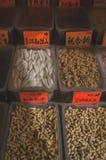 Arachidi, noci sulla vendita in Chinatown fotografie stock