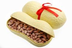 arachidi Sale-arrostite fotografie stock libere da diritti