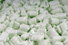 Arachidi verdi della gomma piuma Fotografia Stock Libera da Diritti