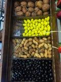 Arachidy i orzechy włoscy obrazy stock