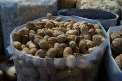 Arachidy w rynku Obraz Stock