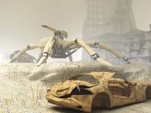 arachnida защищают mech Стоковые Фото