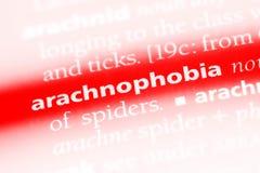 arachnophobia stockbilder