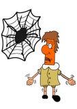 Arachnophobia Stock Image