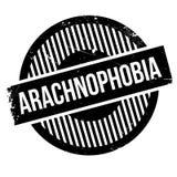 Arachnophobia rubber stamp Royalty Free Stock Photos