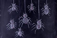 Arachnophobia: Skräck av spindlar Arkivbilder