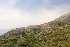 Arachova, Greece, during springtime Stock Images