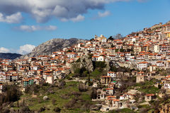 Arachova Greece Stock Images