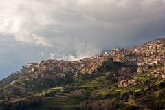 Arachova, Griechenland Stockfotografie