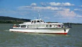 Aracs passenger ship on Lake Balaton in July 2017 Stock Photos