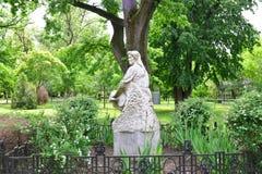 Arad市妇女雕象 图库摄影