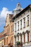 Arad. Town in Crisana region of Romania. Old residential architecture Stock Photo