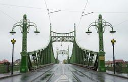 Arad city bridge Royalty Free Stock Photos