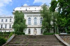 Arad city court house Royalty Free Stock Image