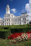 Arad City Hall. Old architecture of Arad City Hall, Romania Royalty Free Stock Images