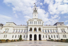Arad - City Hall. Arad, Romania : The City Hall Of Arad Royalty Free Stock Photography