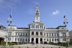 Arad City Hall. Arad romania City Hall landmark architecture panorama Royalty Free Stock Photo