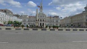 Arad city hall stock video