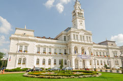 Arad City hall. Is situated on Revolution Avenue no. 75, jud. Arad Stock Images