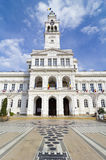 Arad - City Hall Tower Royalty Free Stock Images