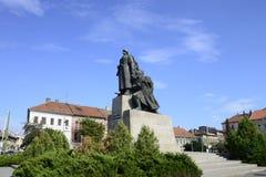 Arad city statue Stock Photography