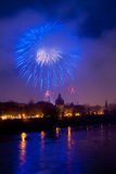 Arad fireworks 2010 a Royalty Free Stock Photo
