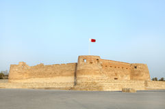 Arad fort, Bahrain. Arad Fort is a 15th century fort in Arad, Bahrain Stock Photo