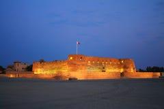 Arad fort i Manama Bahrain Fotografering för Bildbyråer