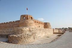 Arad Fort i Muharraq. Bahrain Arkivbilder