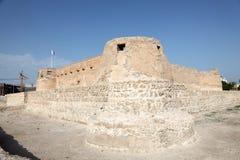 Arad Fort i Muharraq. Bahrain Royaltyfri Foto