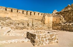Arad Fort on Muharraq Island in Bahrain. The Middle East Royalty Free Stock Photography