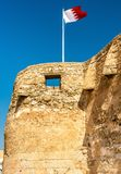 Arad Fort on Muharraq Island in Bahrain. The Middle East Stock Image